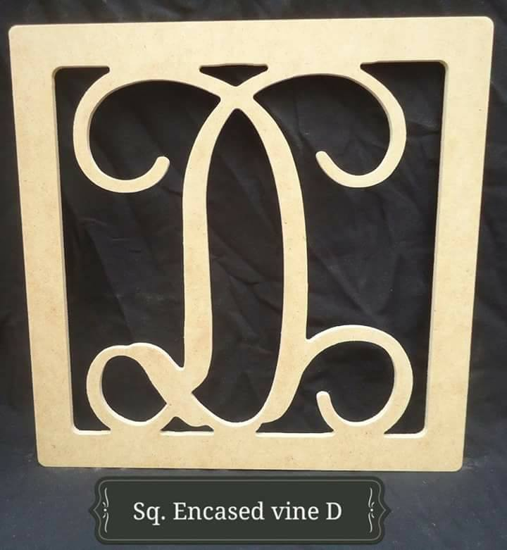 Square Encased D