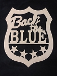 Back the Blue Shield