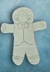 GIngerbread man with bowtie