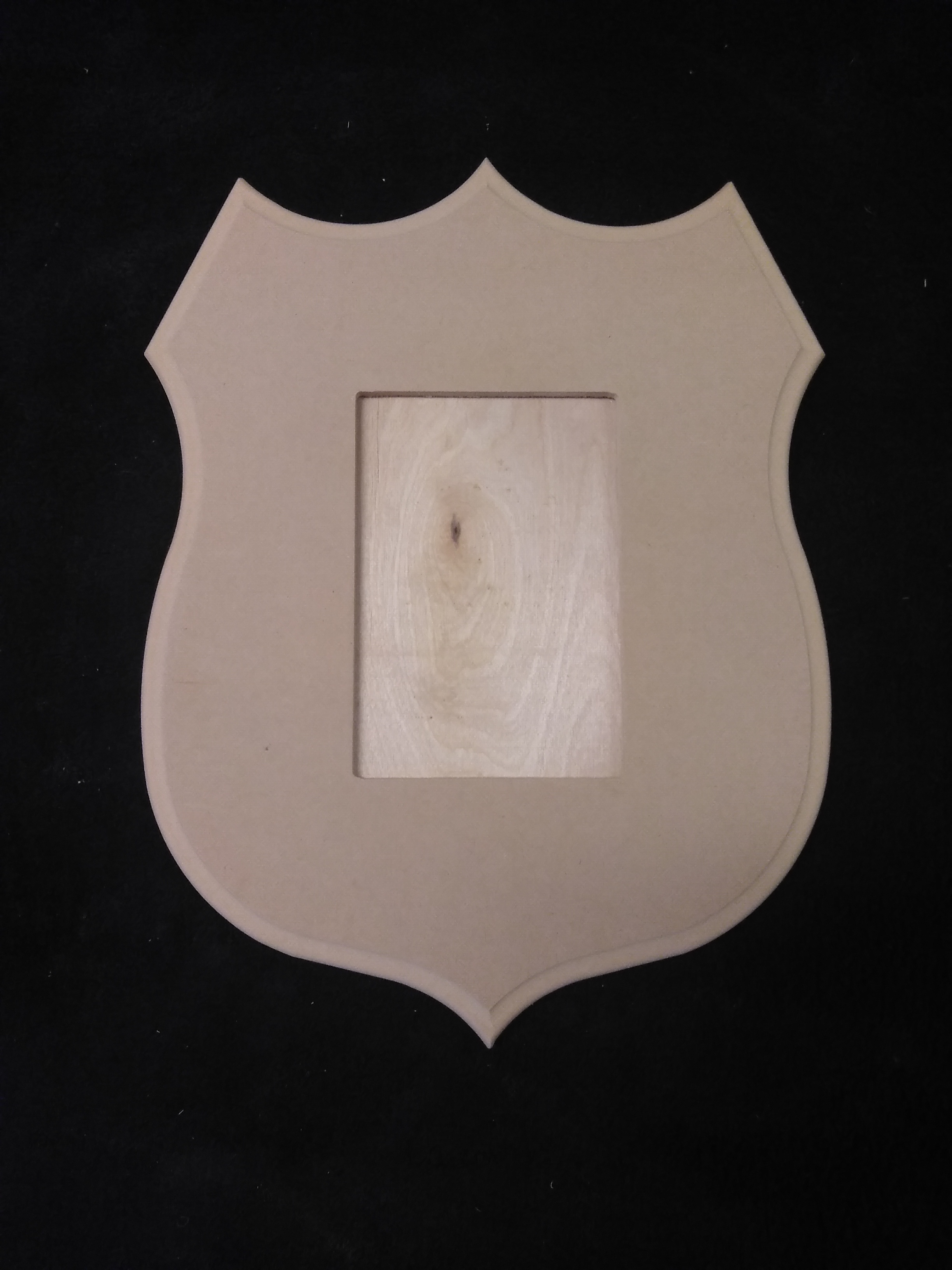 4x6 Police Badge Frame