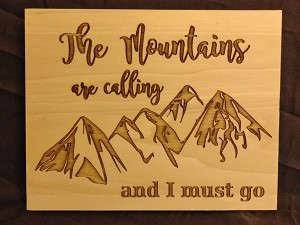The Moutains are calling