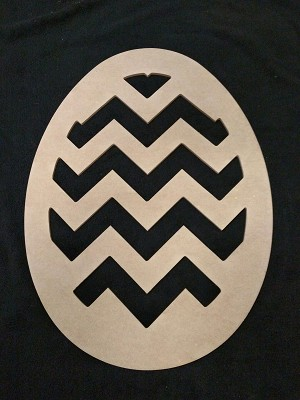 Chevron Egg